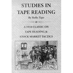 หนังสือหุ้น Studies in tape reading