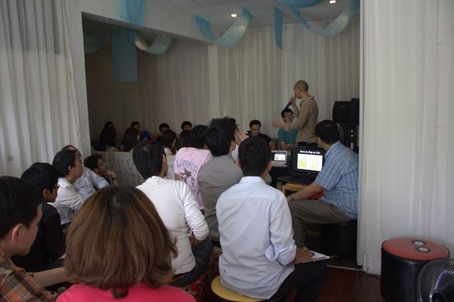 บรรยากาศงาน Mangmaoclub First Meeting 2554