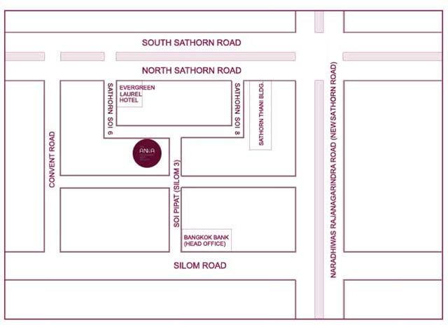 the anna restaurant map - แมงเม่าคลับ