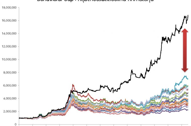Bihavior Gap Chart